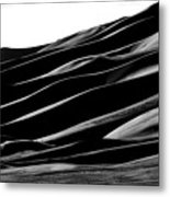 Desert Abstract Metal Print