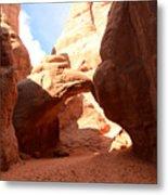 Desert Arch Metal Print