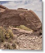 Desert Badlands Metal Print