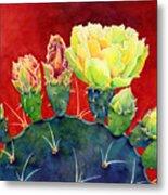 Desert Bloom 3 Metal Print