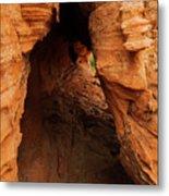 Desert Cavern Metal Print