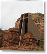 Desert Church Metal Print