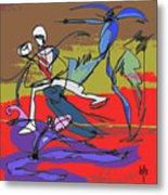 Desert Dance  Metal Print
