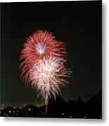 Desert Fireworks Metal Print