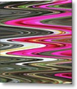 Desert Flowers Abstract Metal Print