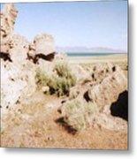 Desert Lake Metal Print