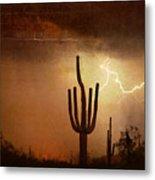 Desert Landscape Southwest Metal Print