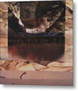 Desert Light - Bgdel Metal Print