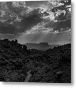 Desert Light Metal Print