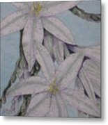 Desert Lillie  Close-up Metal Print