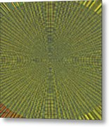 Desert Marigold Flowers Abstract #2 Metal Print