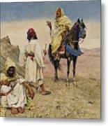 Desert Nomads Metal Print