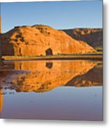 Desert Pools Metal Print by Mike  Dawson