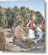 Desert Jesus Metal Print