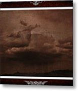 Desert Rain Metal Print