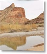 Desert Reflections 2 Metal Print