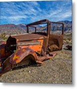 Desert Relic Metal Print