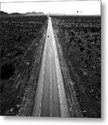 Desert Road Metal Print
