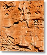 Desert Rock Metal Print