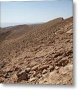 Desert Rock Metal Print
