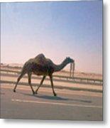 Desert Safari Metal Print