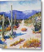 Desert Scene 2 Metal Print