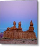 Desert Sisters Metal Print