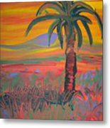 Desert Song By Bill Metal Print