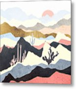 Desert Summer Metal Print