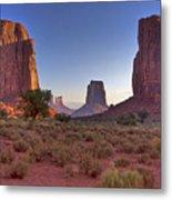 Desert Sunrise Metal Print