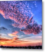 Desert Sunset 2 Metal Print