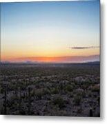 Desert Sunset #5 Metal Print