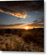 Desert Sunset Metal Print by Matt Tilghman