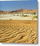 Desert Texture In Namib-naukluft Metal Print