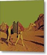 Desert Trek Metal Print