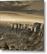 Desert View - Anselized Metal Print