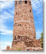 Desert View Tower, Grand Canyon Metal Print