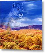 Desert Visions Metal Print by Lorraine Foster