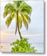 Deserted Beach Tioman Metal Print
