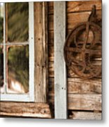 Deserted Homestead Metal Print