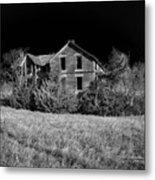 Deserted House Metal Print