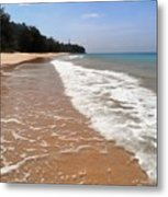 Deserted Shore Of The Island Of Tioman Metal Print