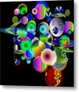 Designers New Drum Kit Metal Print