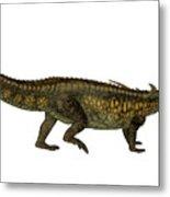 Desmatosuchus Profile Metal Print