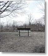 Come Sit A While Metal Print