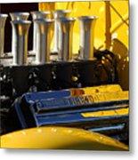 Desoto Firedome Eight Engine Metal Print