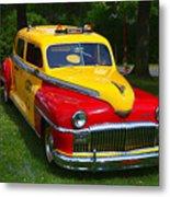 Desoto Skyview Taxi Metal Print