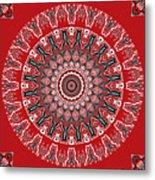 Destiny Mandala Metal Print
