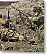 Destiny - Us Army Infantry Metal Print