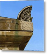 Detail Lighthouse Egmond Metal Print